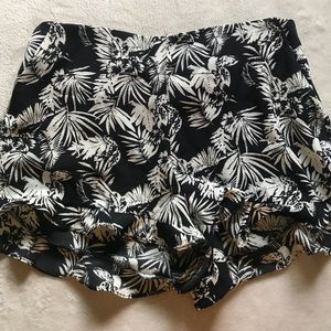 Forever 21 Tropical Print Shorts